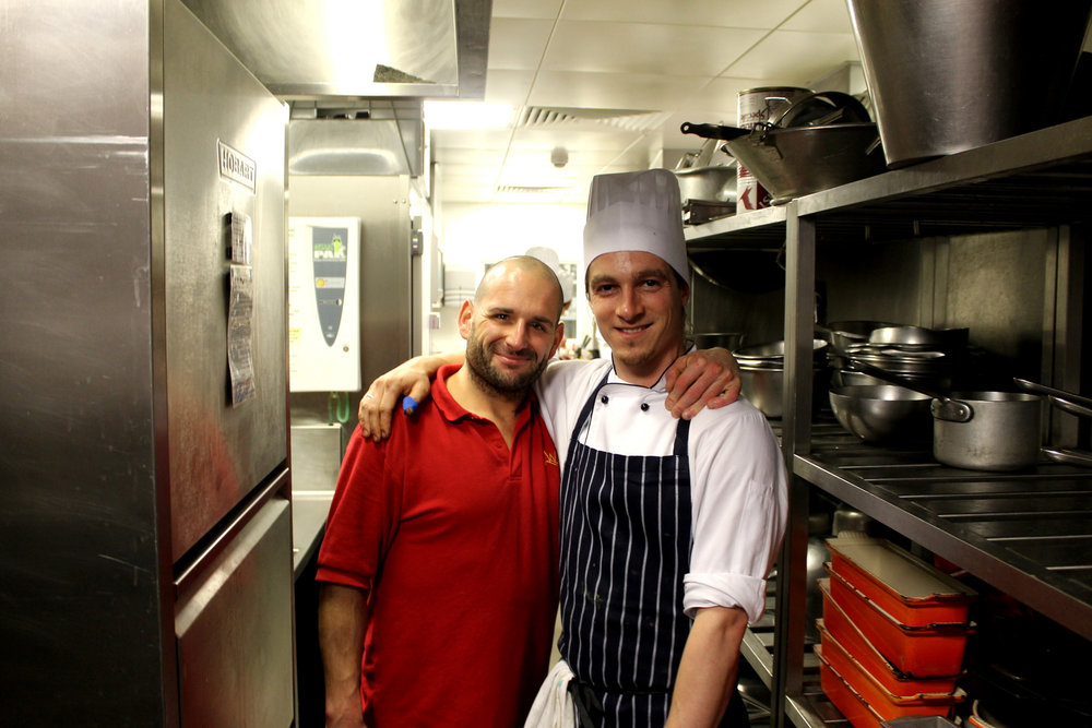 kp and chef at the waterside inn