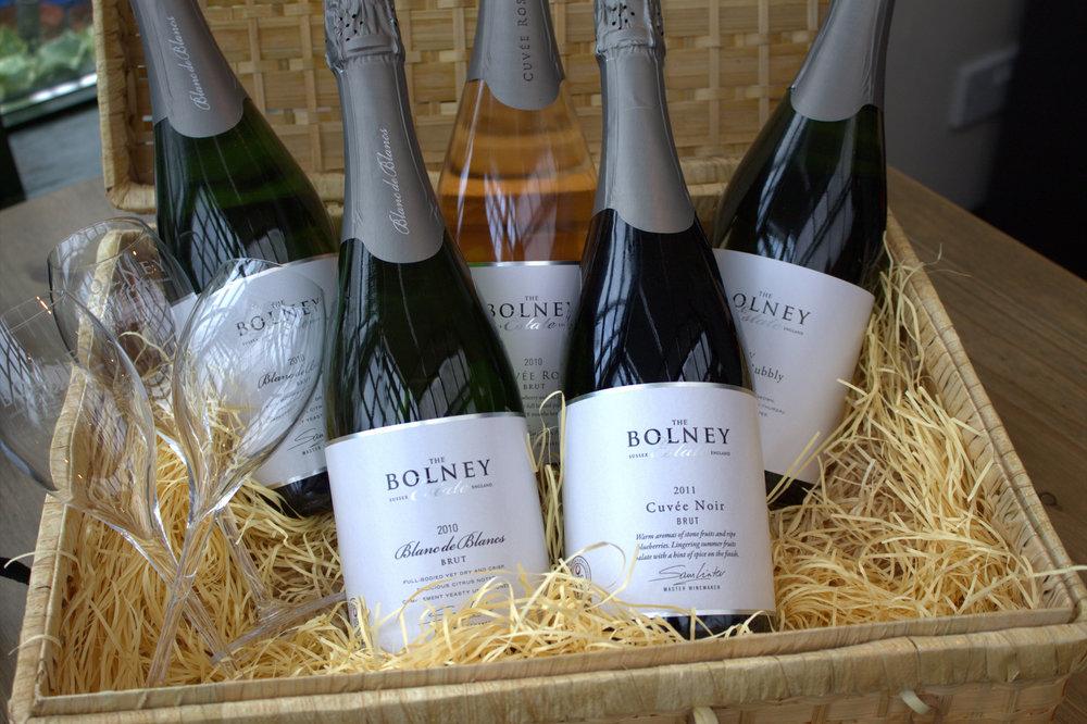 a bolney wine basket