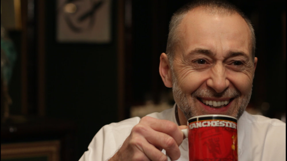 michel roux jr. - the manchester united fan..?