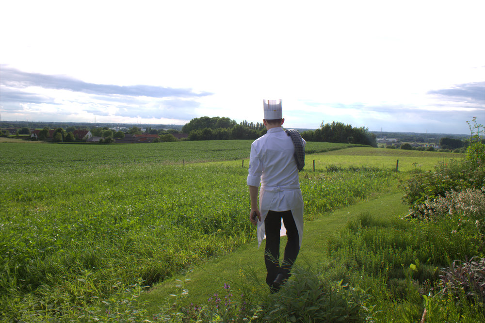 Niels shows us the beautiful belgian countryside