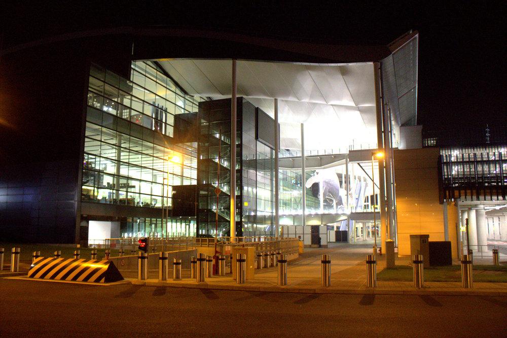 5am at Heathrow Terminal 2