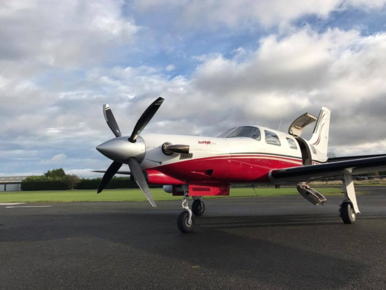 Piper Meridian Eshott Airfield