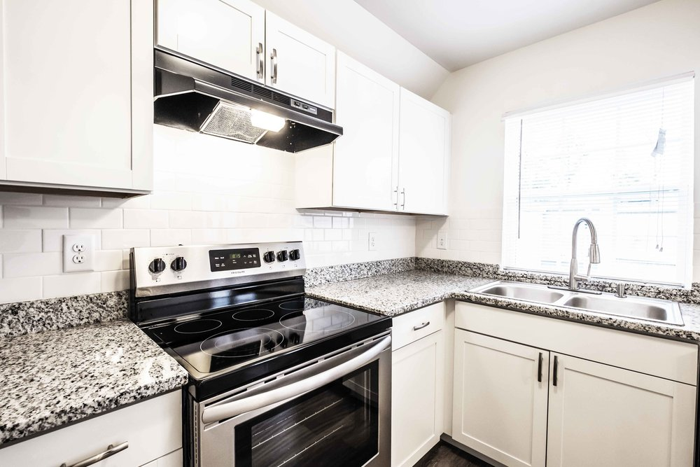 Stainless Steel Appliances - Assembly Sydney EastEach town home comes equipped with gourmet kitchens featuring granite counter tops, stainless steel appliances, modern cabinets and decorative lighting fixtures.
