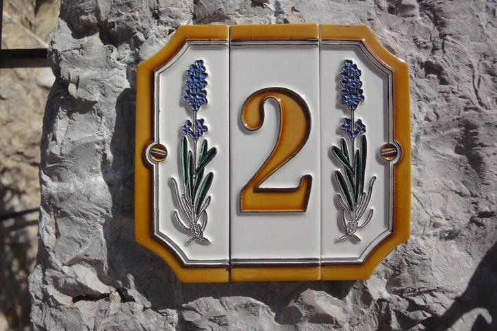 Provence House Number
