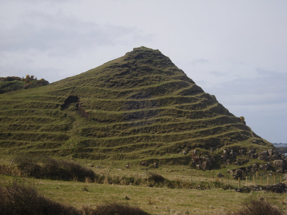 Portbradden A terraced hill