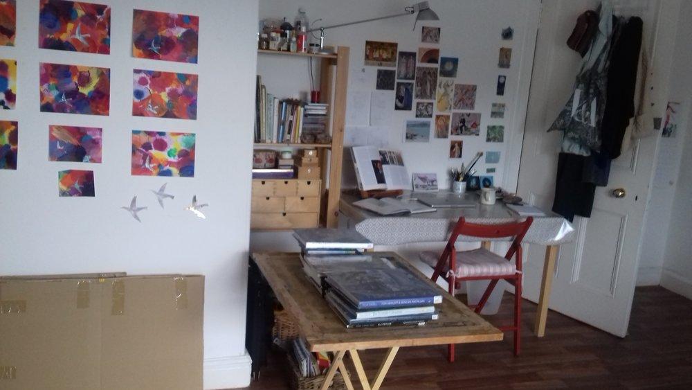 Emily's studio