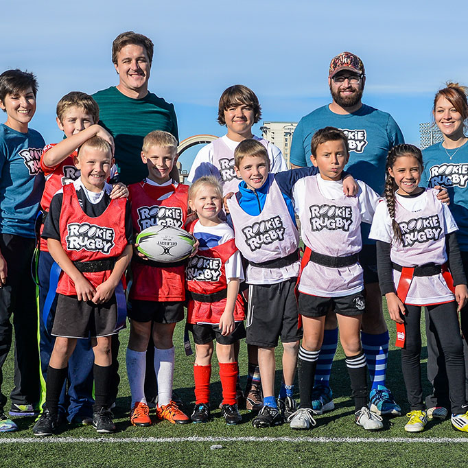 Rookie Rugby - Rookie rugby programs assist our teachers and community programs to introduce rugby to thousands of children across Central AlbertaLearn More