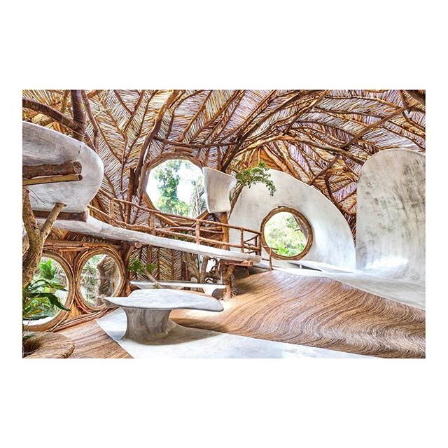 A dreamy jungle escape by #Guggenheim — #iklab #tulum #treehouse #arturlescher