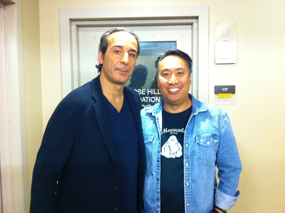 Academy Award winning composer Alexandre Desplat