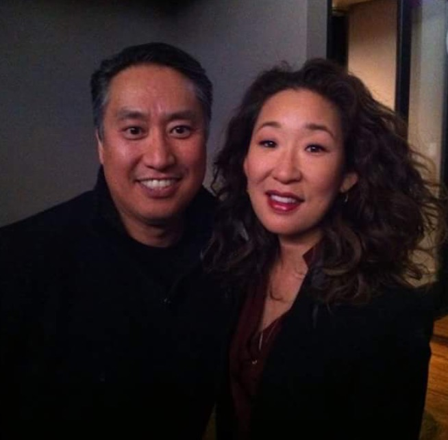 Actress extraordinaire Sandra Oh