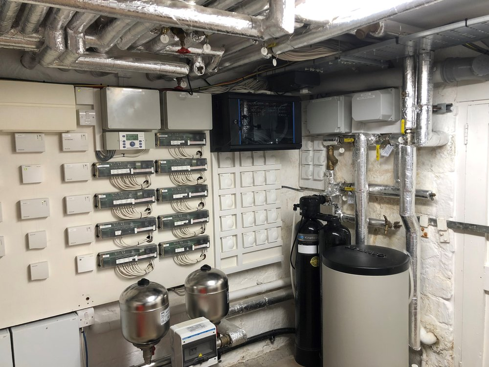 Plant Room - Private residence in Painswick