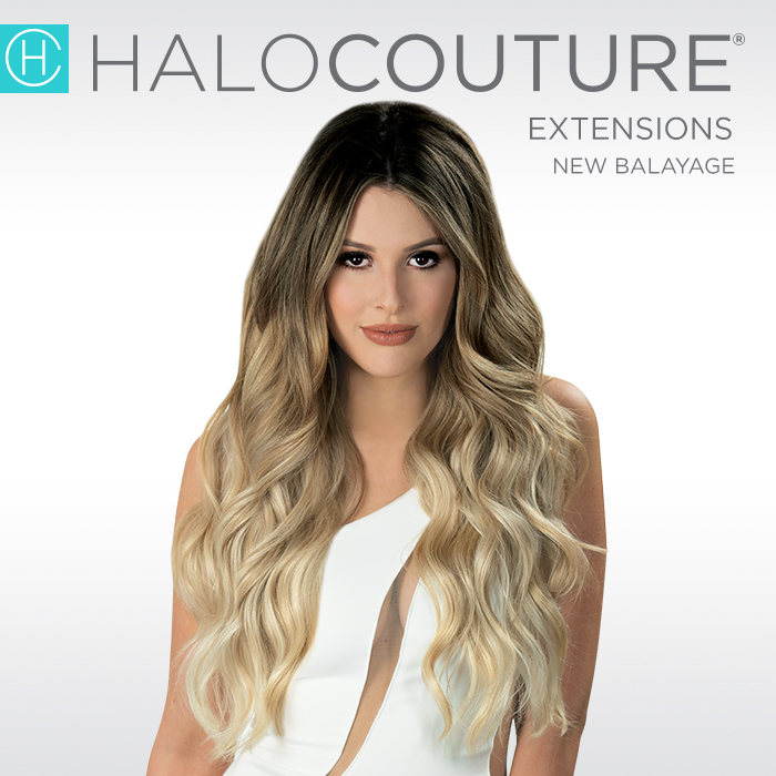 HaloCouture - HALOCOUTURE® revolutionized the world of Extensions with The Original HALO®. Designed with comfort in mind, the easy application of the HALO® will transform your hair in a matter of seconds. This innovative extension is non-damaging and virtually undetectable. For more information, click here.