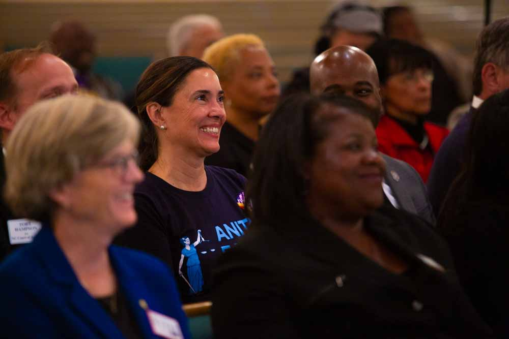 "On the evening of Sunday, Nov. 4, sits in the pews of Union Baptist Church in Durham, N.C among fellow N.C. democratic candidates. The Durham Committee on the Affairs of Black People invited democratic candidates they endorsed to each speak on their platforms for one minute. Anita Earls has been a civil rights attorney mostly in North Carolina for the last 30 years. She founded the Southern Coalition for Social Justice 11 years ago, and is now running to be the hundredth justice of the North Carolina Supreme Court.  ""After my brother was murdered and the killer never prosecuted, I personally experienced what it means to not get your day in court,"" Earls said. ""If we are going to protect families and make communities safer, we need equal justice under law. People's lives are impacted every day by the decisions that the Supreme Court makes. After 2016 in particular, I felt that the federal courts may no longer be a sympathetic avenue for civil rights claims. And state constitutions are rich and robust sources for protection of our rights. Our state Supreme Court can make a lot of decisions about things that impact their lives daily."""