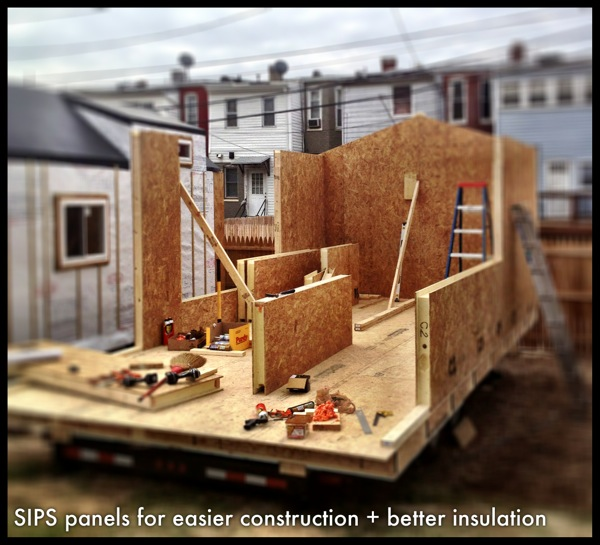 Structural Insulated Panels (SIPs) Tiny House — Wee Make ... on 1000 sq ft. small homes, 400 sq ft. small homes, tiny key west homes, busses from tiny homes, tiny pueblo homes, mini custom homes, pod homes,