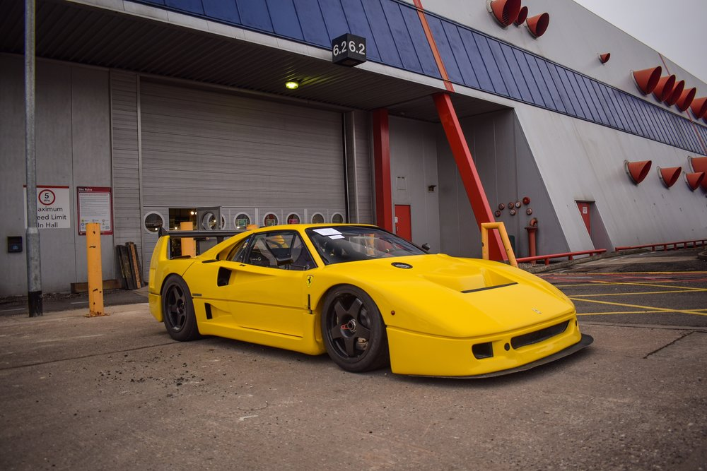 What's the difference between all the Ferrari F40 race cars ...