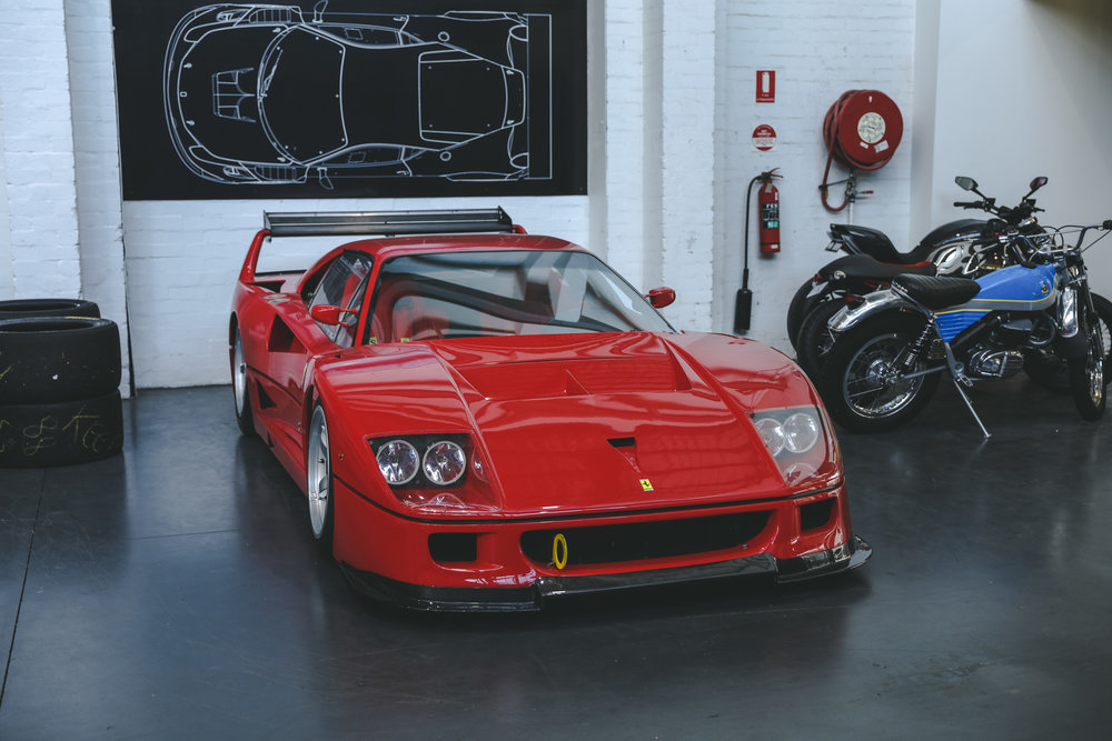 Whats The Difference Between All The Ferrari F40 Race Cars