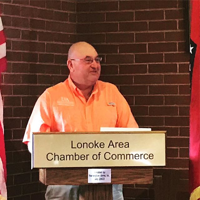 Thank you Keith Perkins for serving #Lonoke County through the cooperative extension service, and for reminding us today of our amazing assets and opportunities! #believeinlonoke