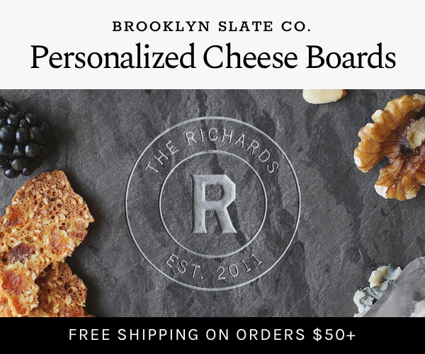Brooklyn Slate Cheese Board