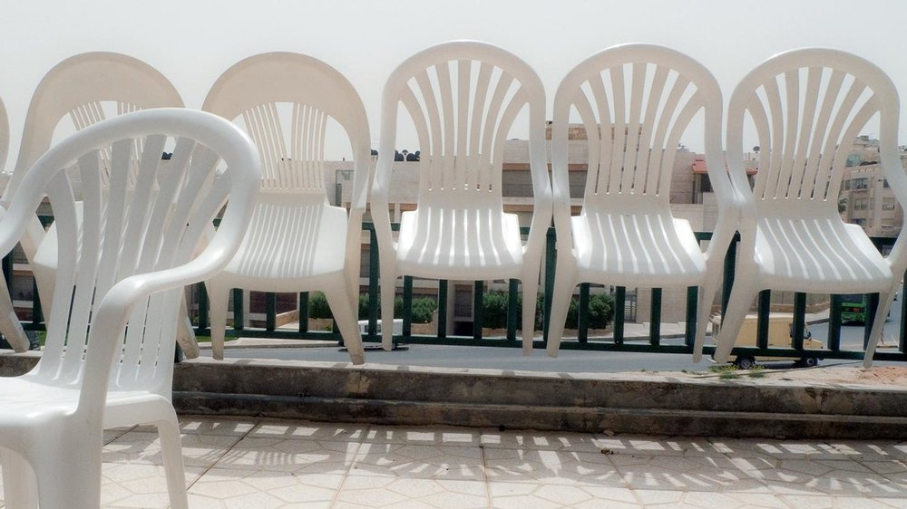 White Plastic Chairs Are Taking Over the World - Jan 28 2015