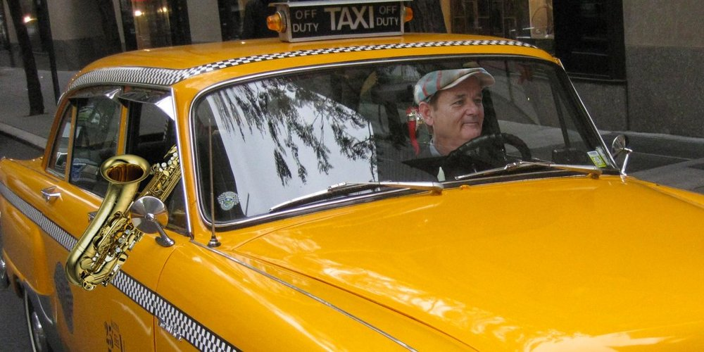 BILL MURRAY DROVE AN OAKLAND TAXI LAST WEEK -
