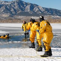 Annual Ice Rescue Training