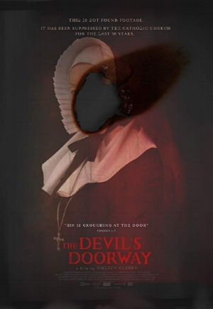 The Devil's Doorway  poster, IFC Midnight. Used with permission from Aislinn Clarke.