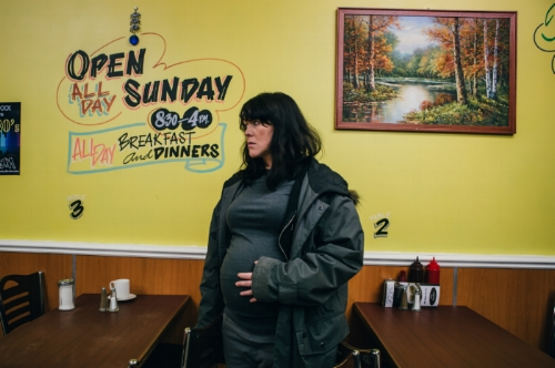 Alice Lowe in  Prevenge . Reproduced with permission from  Western Edge Pictures .