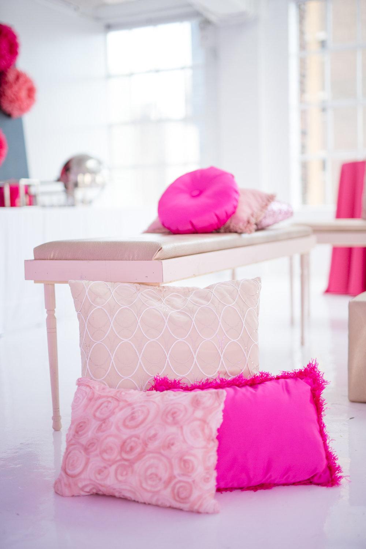 custom mitzvah pillow decor
