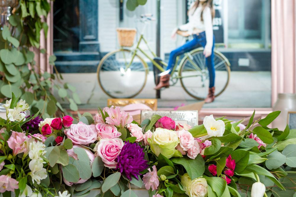 nyc mitzvah floral design