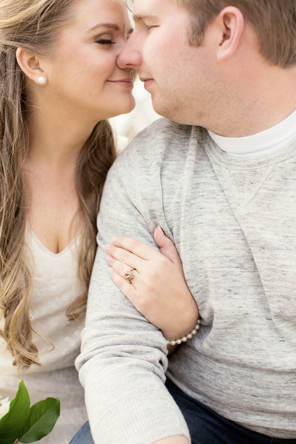 Sandy Hook New Jersey Beach Engagement Session with Magnolia West and Jaye Kogut Photography at Light House