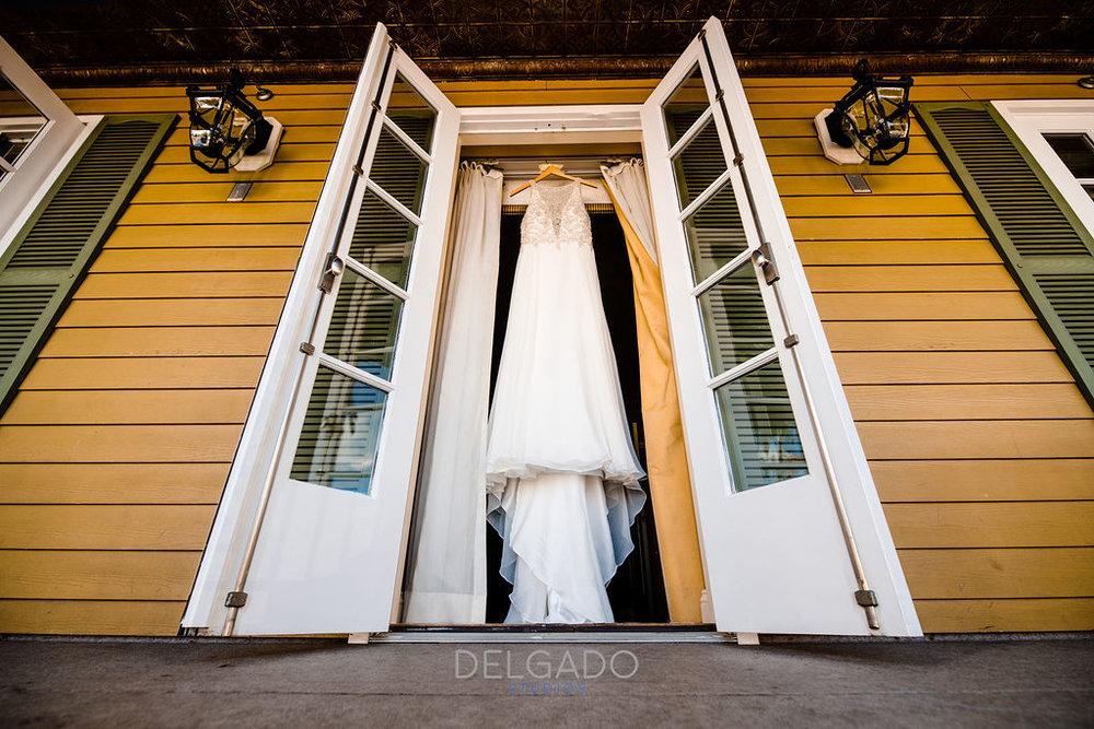 Maggie Soterro flowy beaded wedding dress for modern traditional american hotel wedding