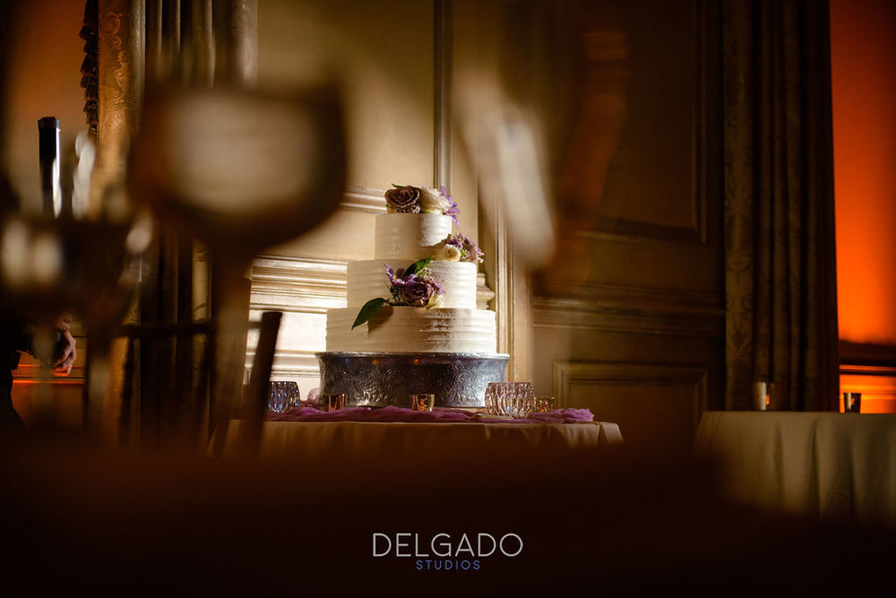 chocolate carousel wedding cake