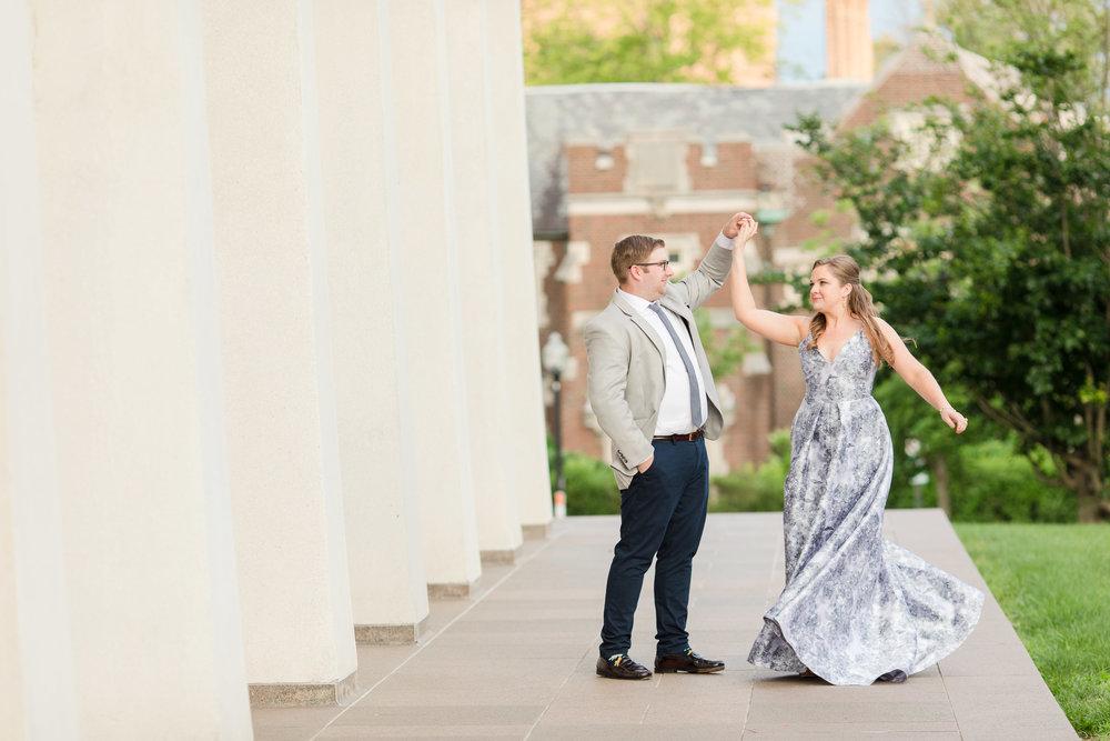 Danielle & Bryan, Princeton Anniversary Shoot, Spring 2018