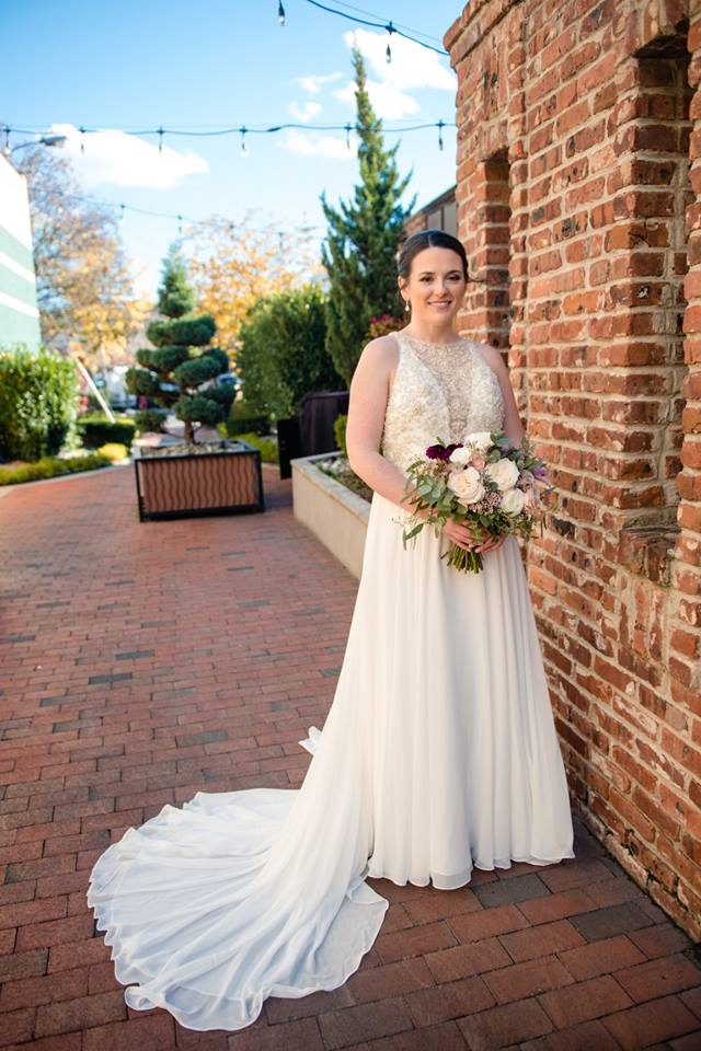 modern traditional maggie sottero bride
