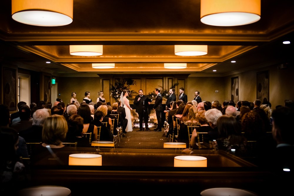 american hotel wedding ceremony