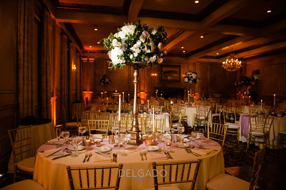 romantic ballroom wedding nj