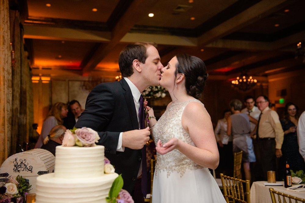 chocolate carousel wedding cake american hotel wedding