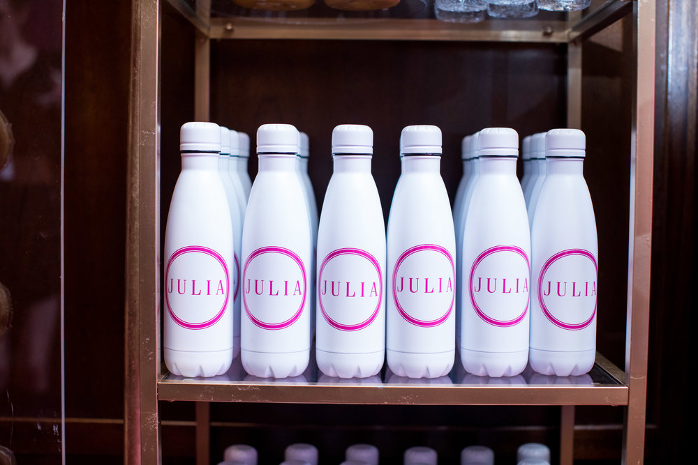 custom mitzvah water bottle favors