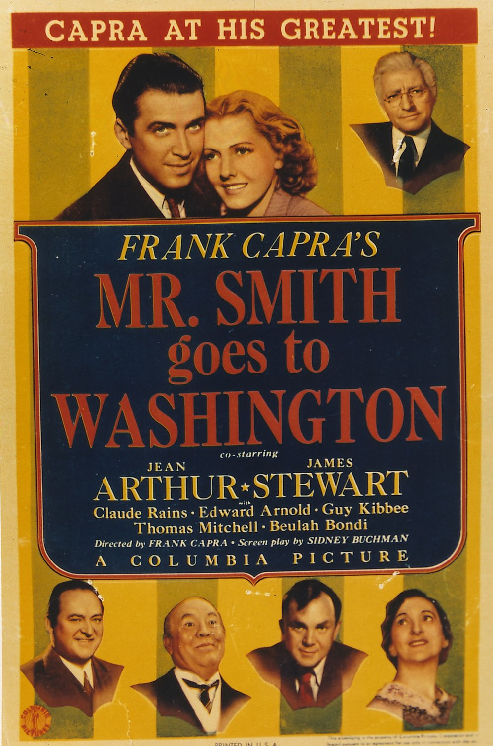 what is the theme of mr smith goes to washington