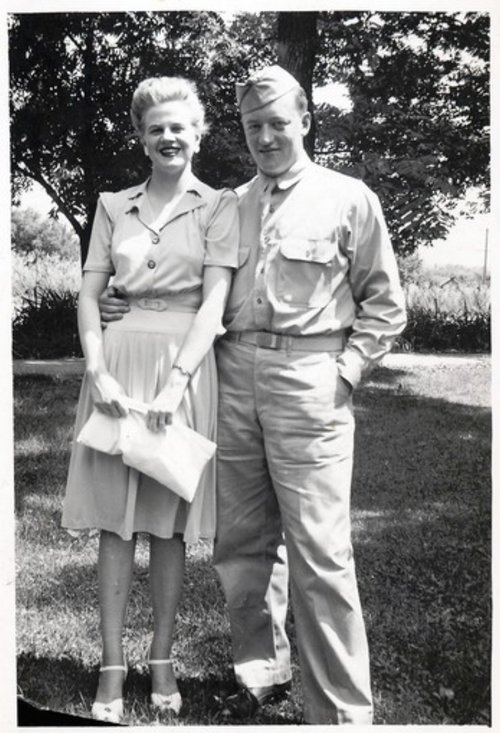 My parents, Joyce and Robert Lee, circa 1942