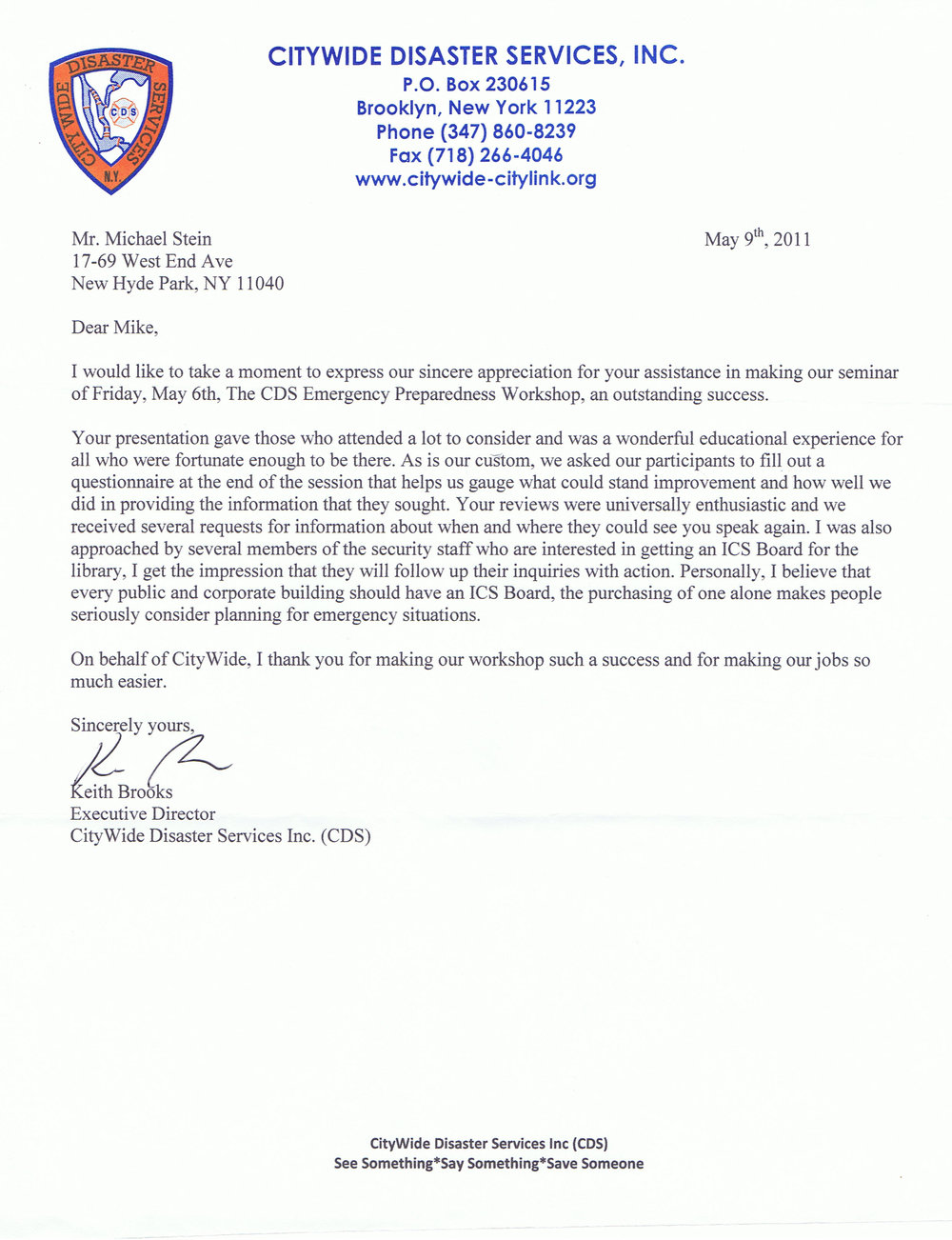 City Wide Disaster Appreciation Letter 2011.jpg