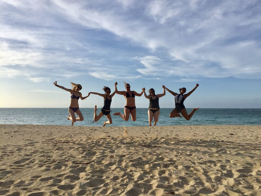 B.O.L. Playa Jumping Pic- Elizabeth,Kuni,Allison,Celia,Kayla.JPG