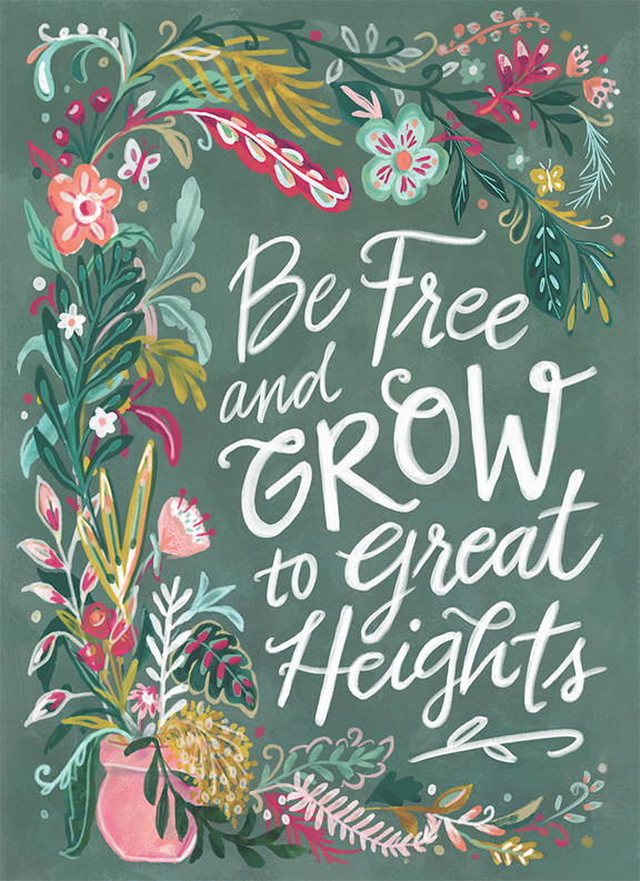 Be Free and Grow