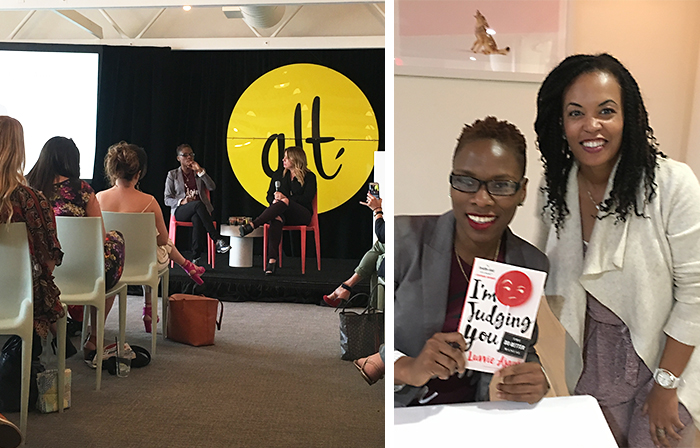 Listened to a powerful talk from author, speaker and influencer,  Luvvie Ajayi  and joyfully received a signed copy of her popular and hilarious book!