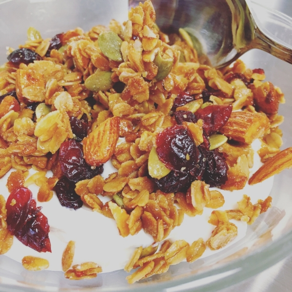 outer banks granola cranberry