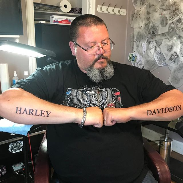 Big Paul from Orangeville! #harleytattoo #harleydavidson #tattoo #freshink #bolton #caledon #tattooed