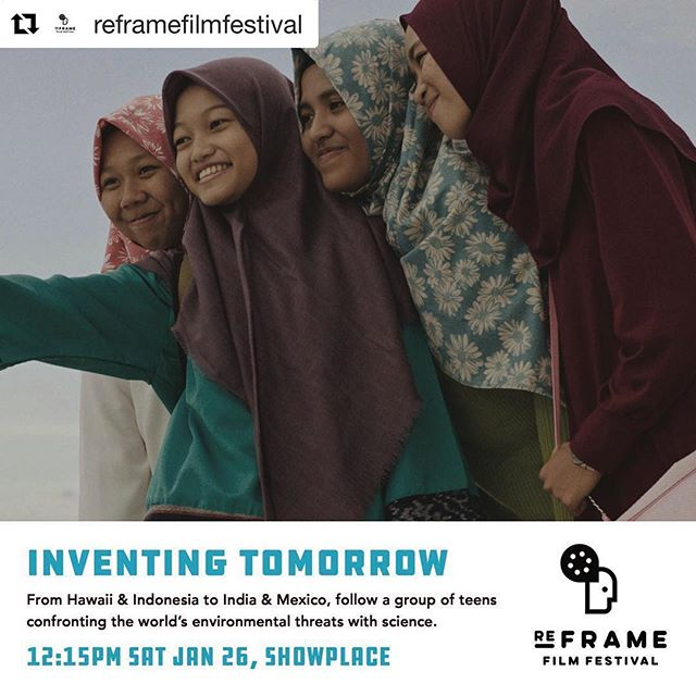 #Repost @reframefilmfestival ・・・ From Hawaii & Indonesia to India & Mexico, @inventingtomorrowmovie follows a group of enterprising teens from around the globe as they prepare for the world's largest high school science competition. 💡🧬🧫🧪🥇🌿♥️ . . . #inventingtomorrowmovie  #film #filmfestival #environmentaldocumentary #youth #science #sciencefair #education #downtownptbo #passplasticptbo