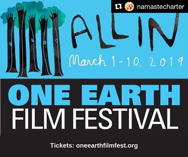 #Repost @namastecharter ・・・ Go #AllIn to watch @inventingtomorrowmovie understand and act with us and @oneearthff on March 7th at 6:30 PM. We are ready! How about you? Reserve your spot now! Link in bio.  #oeff2019 #AllIn #inventingtomorrowmovie #filmfestival #wearenamaste #somosnamaste