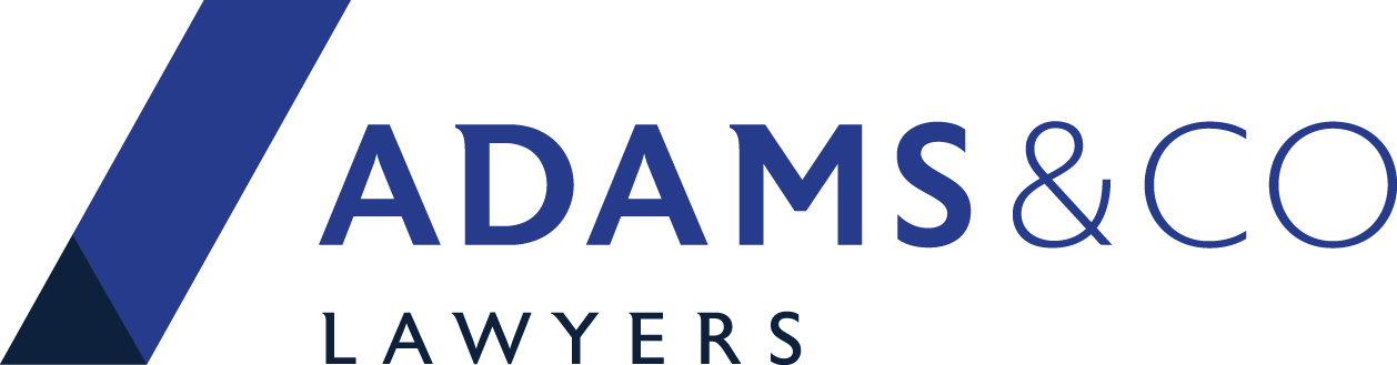 Adams & Co Lawyers  |  Personal Injury Law