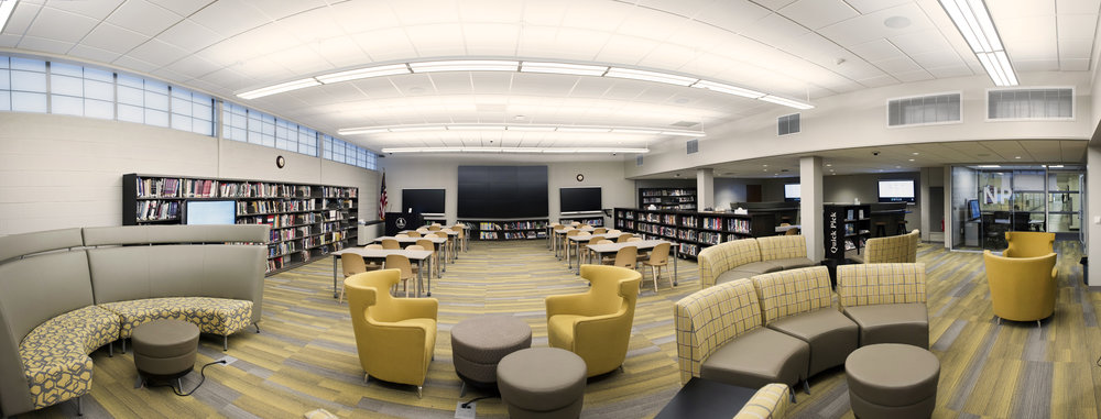 New Providence Middle + High School Media Center